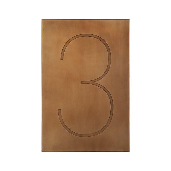 Number3BrassF13