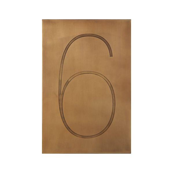 Number6BrassF13