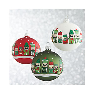Nutcracker Ball Ornaments