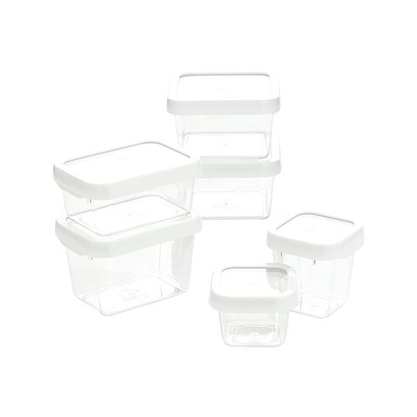 OXO ® White 12-Piece Locktop Container Set