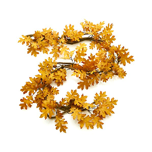 Oak Leaf Artificial Garland