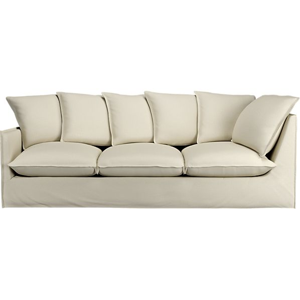 "Oasis 112"" Left Arm Corner Sectional Sofa"