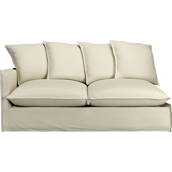 "Oasis 70"" Left Arm Sectional Sofa"