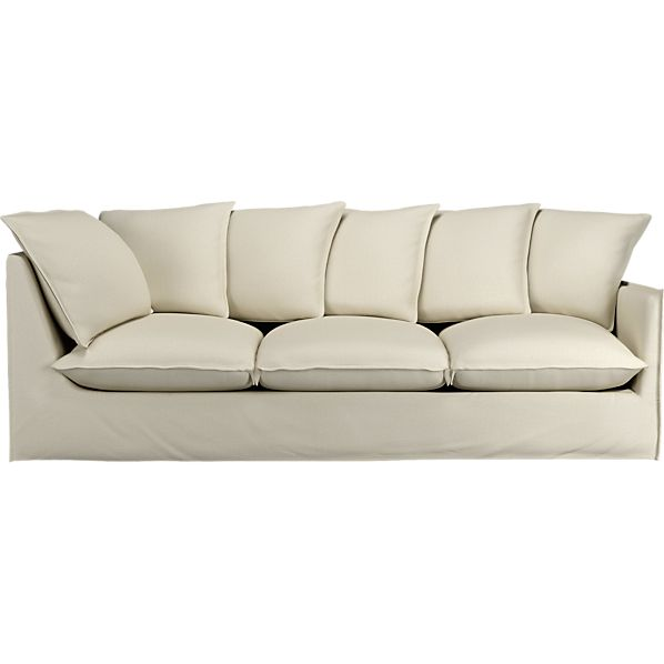 "Oasis 98"" Right Arm Corner Sectional Sofa"
