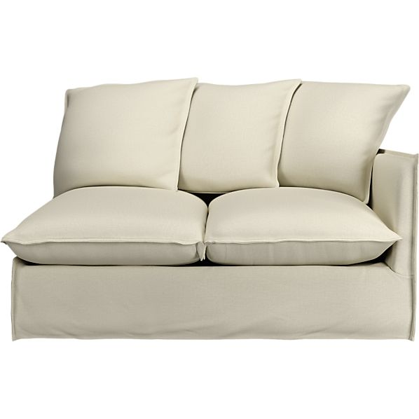 Oasis Right Arm Sectional Loveseat
