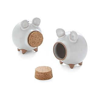 Oink Salt and Pepper Shakers Set of Two