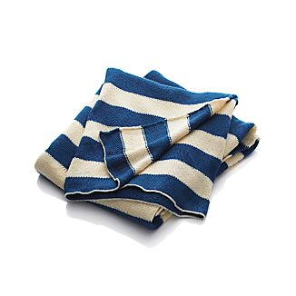 Olin Blue Throw