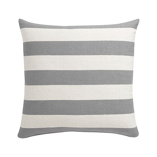 "Olin Grey 25"" Floor Pillow"