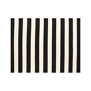 Olin Black 8x10 Rug