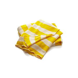 Olin Yellow Throw