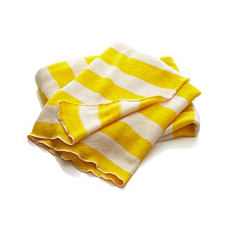 Olin Yellow Throw