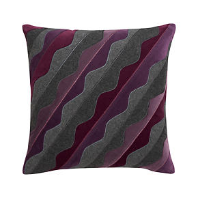 Oliveri Purple 18 Pillow