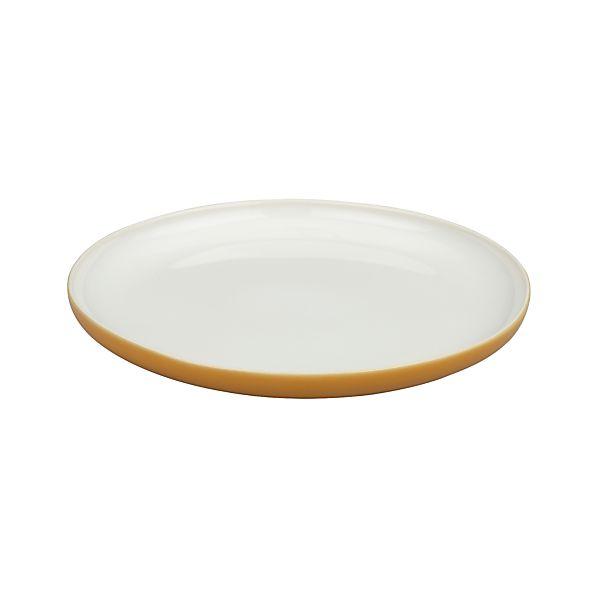 Olson Orange Salad Plate