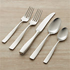 Olympic 20-Piece Flatware Set: four 5-piece place settings.