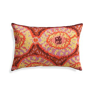 "Onassis 24""x16"" Pillow with Down-Alternative Insert"