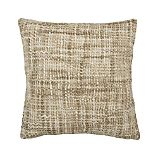 "Open Weave Neutral 18"" Pillow"