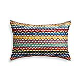 "Oppice 20""x13"" Pillow with Feather-Down Insert"