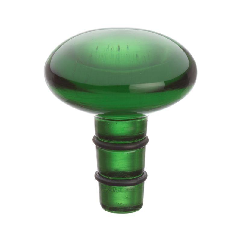 Orb Green Bottle Stopper