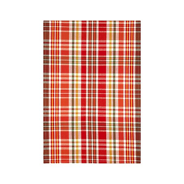 Orchard Plaid Dishtowel