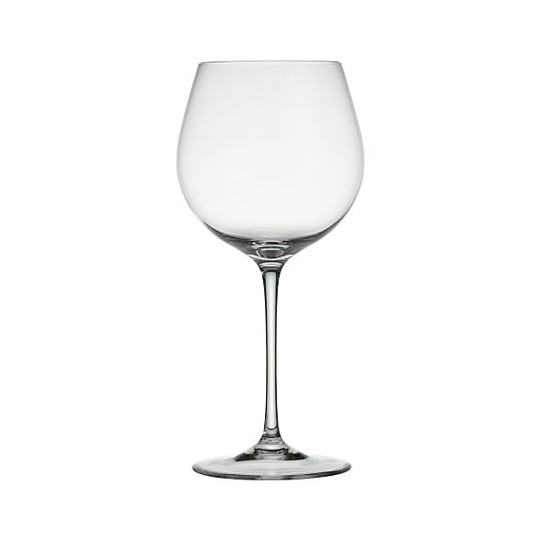 oregon 22 oz big white wine glass crate and barrel