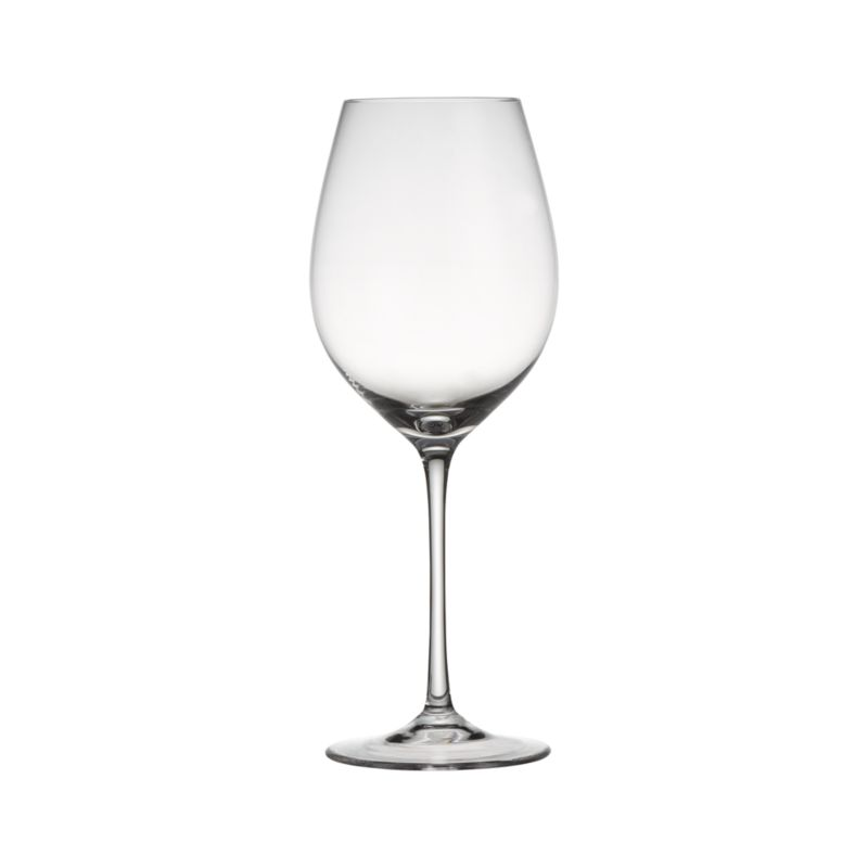Classic wine shape is crafted with pulled stem and fire-polished rim. Machine-made using the latest technology to resemble the quality of handblown stemware at an everyday price.<br /><br /><NEWTAG/><ul><li>Pulled stem</li><li>Hand washing recommended</li><li>Made in Slovakia</li></ul><br /><br />