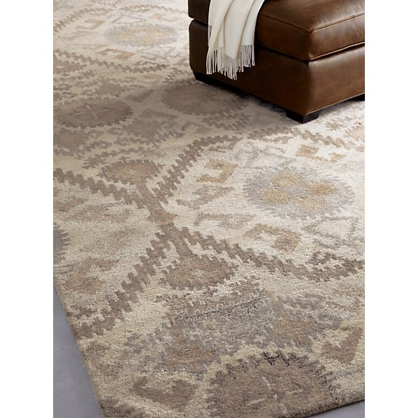 Orissa Neutral Wool Rug