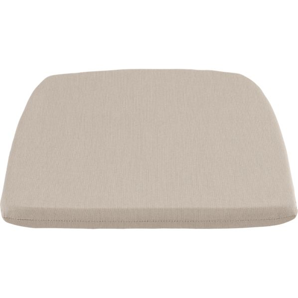 Orleans Sunbrella® Stone Dining Chair Cushion