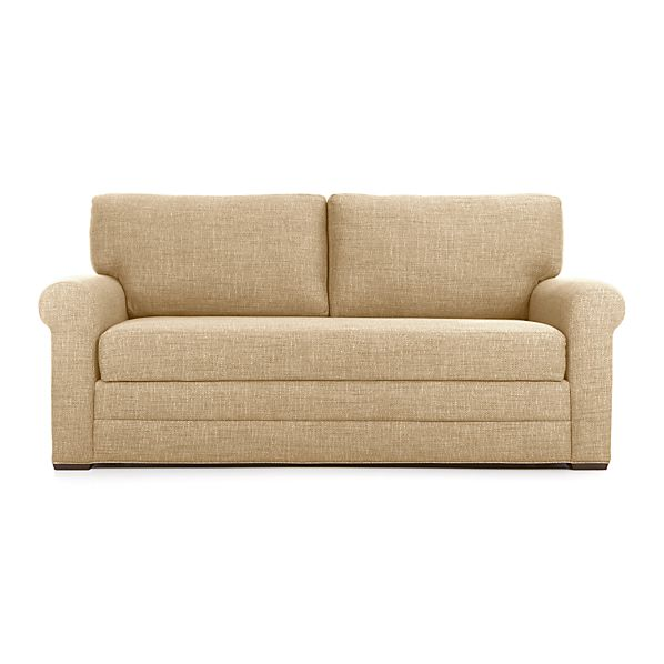orleans sleeper sofa camel crate and barrel