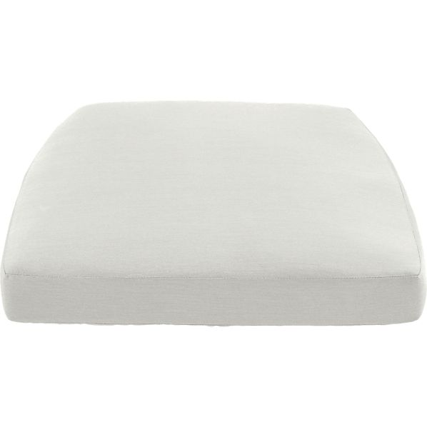 Orleans Sunbrella® White Sand Lounge Chair Cushion