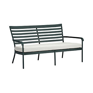 Orleans Sofa with Sunbrella® White Sand Cushion