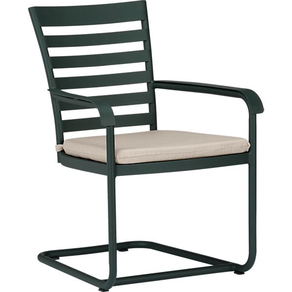 Orleans Spring Dining Chair with Sunbrella® Stone Cushion