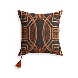 "Ormond 18"" Pillow with Feather-Down Insert"