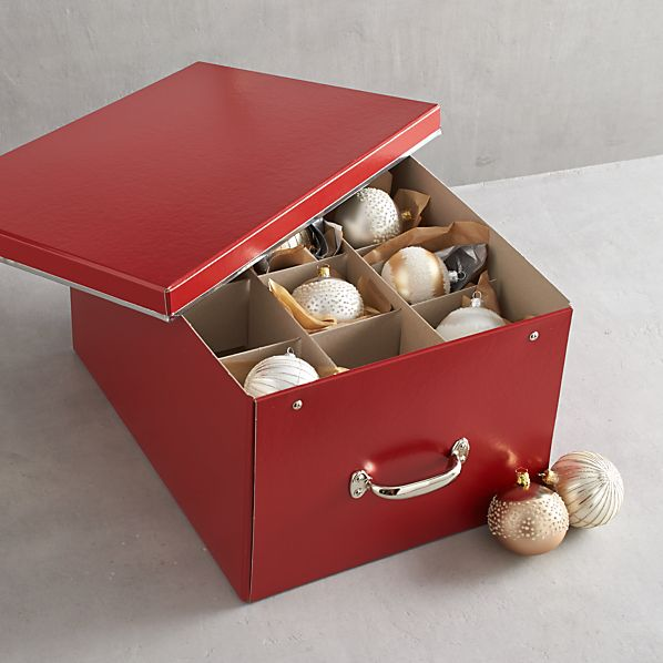 Bigso® Red Ornament Box