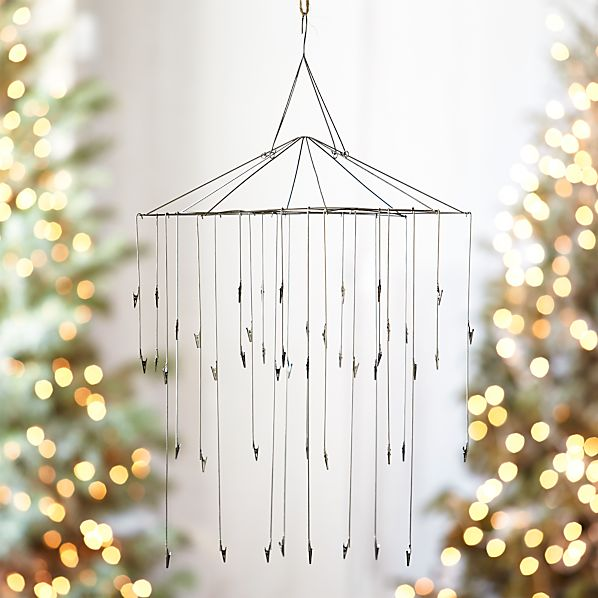 Page not found crate and barrel for Hanging ornaments from chandelier