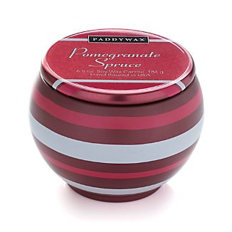 Pomegranate Spruce Ornament Scented Candle