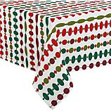 "Ornament 60""x108"" Tablecloth"