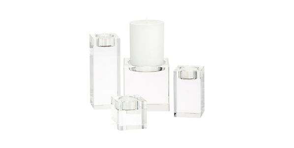 Candle Holders: Contemporary Candle Holder Shopping: Silver ...