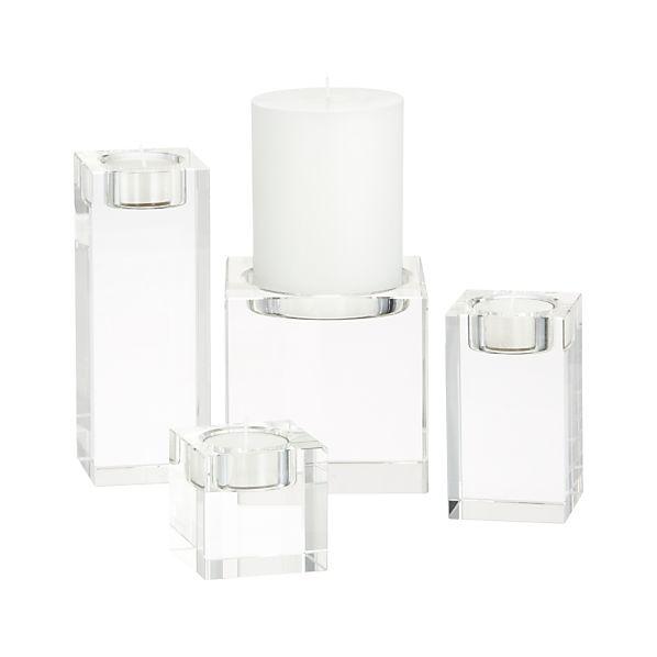 Oslo Crystal Candleholders