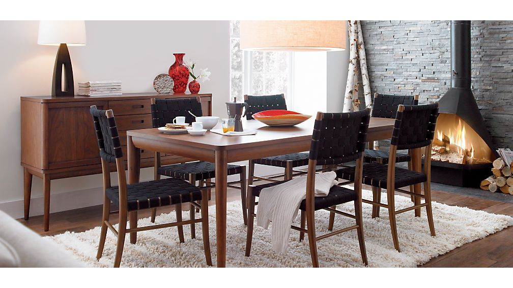 Oslo Black Wood Dining Chair