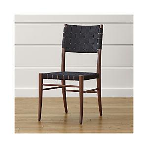 Oslo Black Side Chair