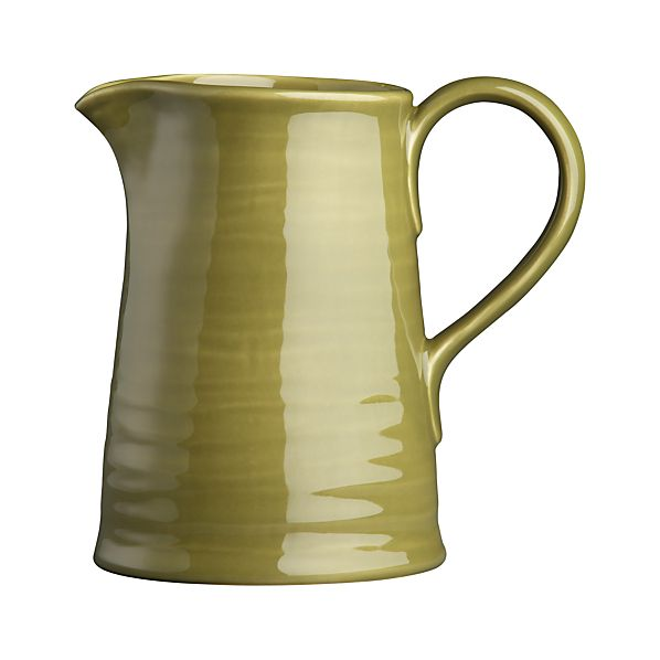 Osteria Green Pitcher