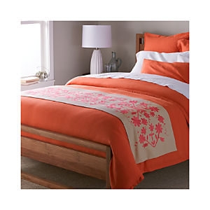 Otomi Embroidered Bed Runner