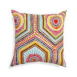 "Mosaic Shapes 20"" Sq. Outdoor Pillow"