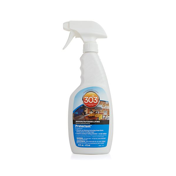 303 protectant crate and barrel for Outdoor furniture cleaner