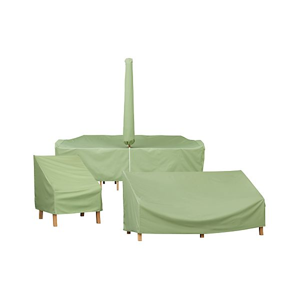 Outdoor furniture covers crate and barrel for Cover for outdoor furniture