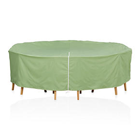 Crate and Barrel - Round Table/Chairs Outdoor Furniture Cover with ...