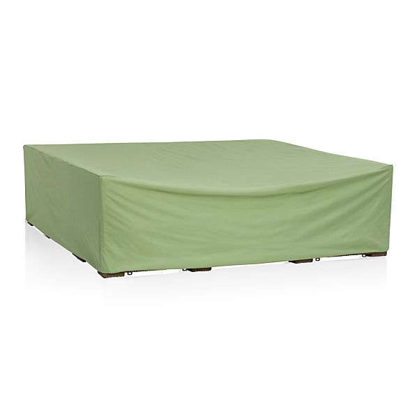 Sectional outdoor furniture cover in furniture covers for Cover for outdoor furniture
