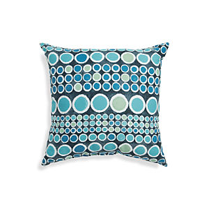 "Circles 20"" Sq. Outdoor Pillow"
