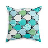 "Tags 20"" Sq. Outdoor Pillow"