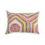 "Mosaic Shapes 20""x13"" Outdoor Pillow"